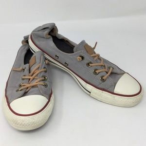 Converse All Star Gray Low Top Elastic Heel W8